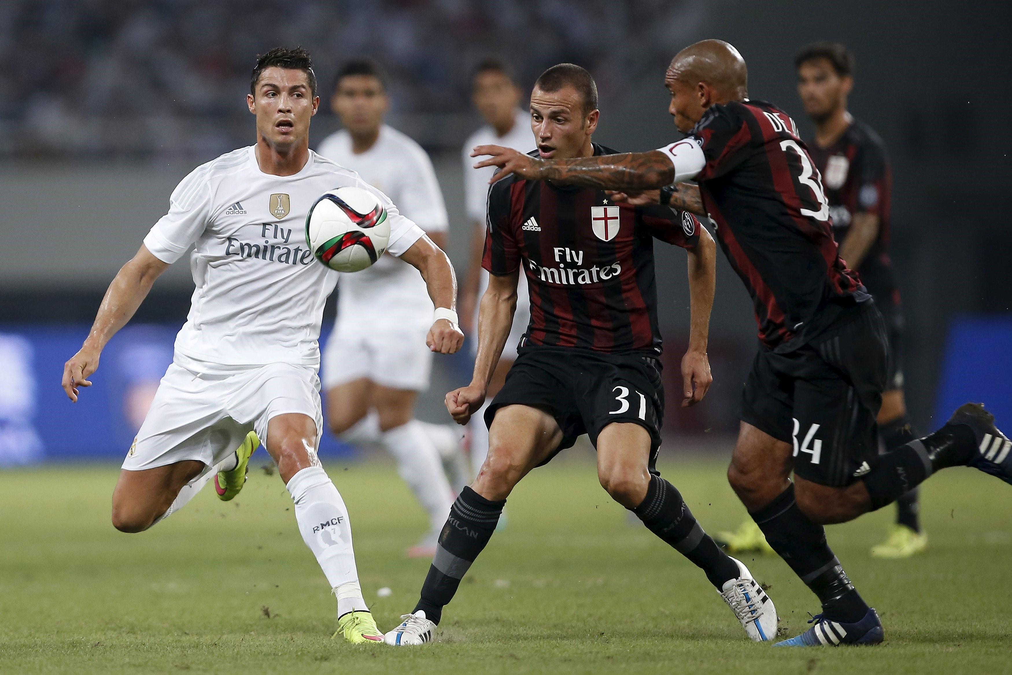 Real Madrid, Milan e Inter, los equipos preferidos en China